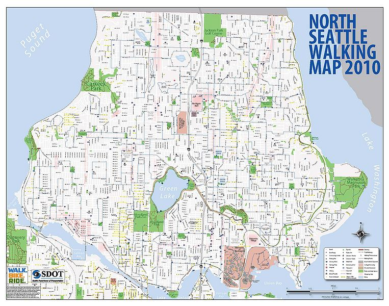 Seattle North Map Wiring Free Printable Images World Maps