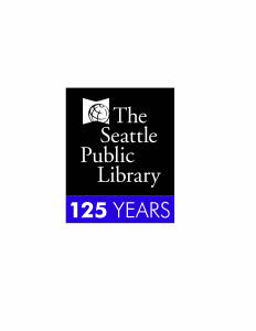 SeattlePublicLibrary125thAnniversaryLogo