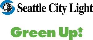 banner green up logo