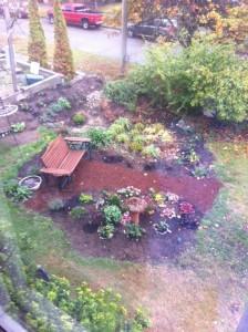 Rain garden, fini