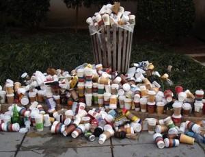 Coffeecup-waste