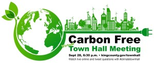 carbon free town hall
