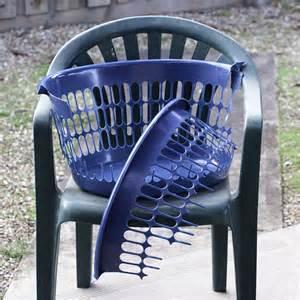 broken laundry basket