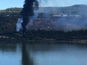 exploding oil train
